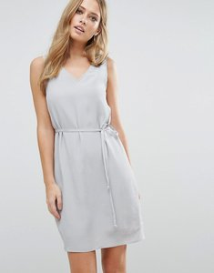 Read more about Vila v neck sleeveless shift dress - high rise