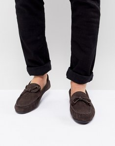 Read more about Kg by kurt geiger ringwood driving shoes in suede - brown