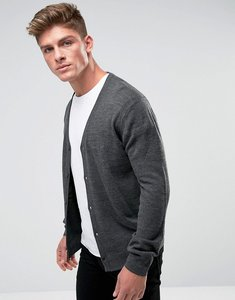 Read more about French connection man cardigan - grey