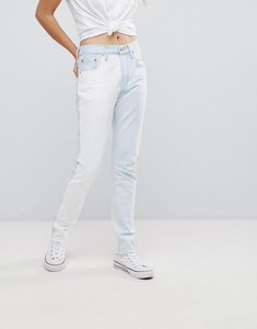 Read more about Levi s altered 501 high rise jean - two faced