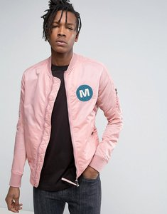 Read more about Maharishi ma1 bomber jacket in pink - pink