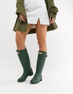 Read more about Hunter original tour wellington boot - heritage green