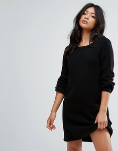 Read more about Jdy knitted jumper dress - black