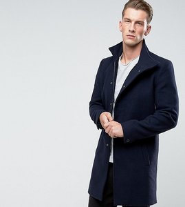 Read more about Only sons funnel neck overcoat - night sky