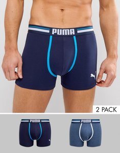 Read more about Puma 2 pack boxer - blue