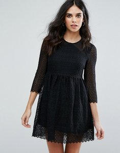 Read more about Little white lies maryse skater dress - black