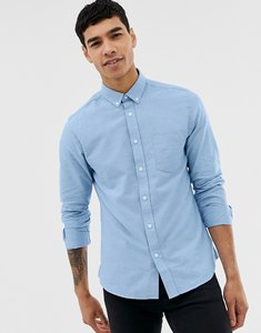 Read more about Only sons slim fit oxford shirt - cashmere blue