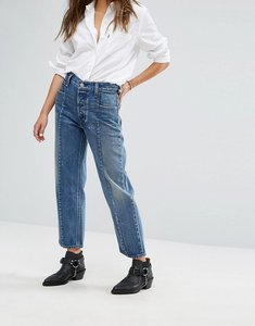 Read more about Levis altered straight leg jean with front seam detail - no limits blue