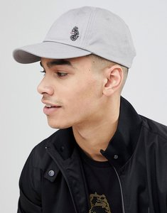 Read more about Luke sport glades logo baseball cap in light grey - light grey