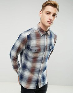 Read more about Esprit shirt in regular fit in heavy check cotton - check 415