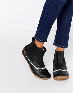 Read more about Sorel out n about chelsea boots - black collegiate nav