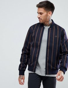 Read more about Fred perry stripe bomber in navy - 608
