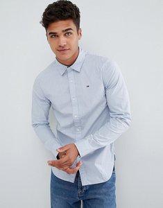 Read more about Tommy hilfiger denim stripe shirt slim fit in blue - blue