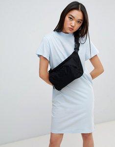 Read more about Cheap monday square logo smash dress - pale blue