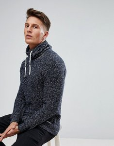 Read more about Esprit jumper with funnel neck - navy 400