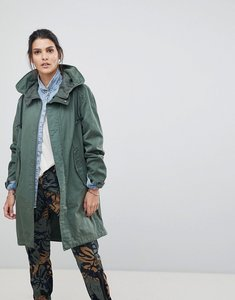 Read more about G-star be raw parka - khaki green