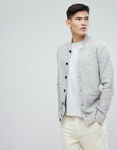 Read more about Esprit wool bomber with chunky rib - 040