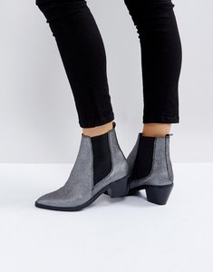 Read more about H by hudson leather ankle boots - pewter