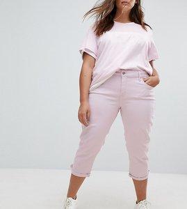 Read more about Levi s plus shaping cropped skinny jean - light lilac twill