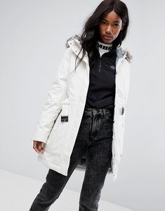 Read more about The north face brooklyn parka in white - 11pvintagewhite