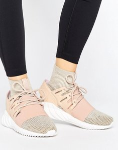 Read more about Adidas originals pink tubular doom trainers - st pale nude f13