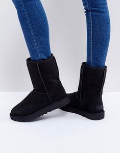 Read more about Ugg classic short ii black boots - black