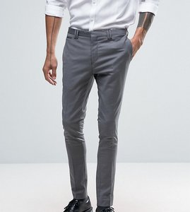 Read more about Noak super skinny suit trousers - pale grey