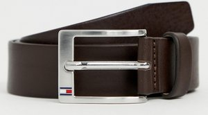 Read more about Tommy hilfiger aly leather belt in brown - brown