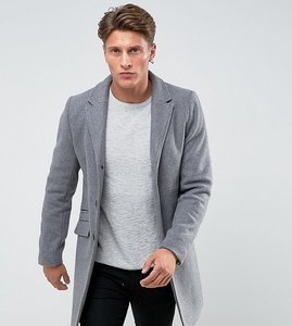 Read more about Only sons overcoat - medium grey melange