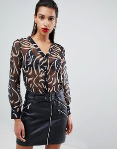 Read more about Morgan printed blouse - multi