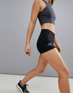 Read more about Adidas training alphaskin 3 inch short in black - black