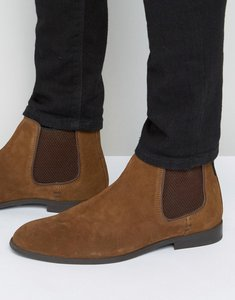Read more about Ben sherman chelsea boots in tan suede - tan
