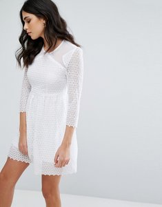 Read more about Little white lies maryse skater dress - white