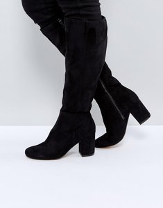 Read more about Asos carson knee high boots - black