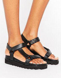 Read more about Sixtyseven d-ring flatform sandal - black