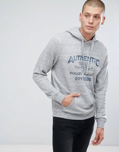 Read more about Jack jones vintage hoodie with vintage graphic - light grey melange