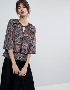 Read more about D ra dakota printed blouse - asian kaleid
