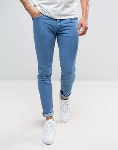 Read more about Diesel sleenker skinny jeans 0684b mid wash - mid wash blue