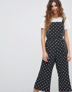 Read more about Miss selfridge polka dot jumpsuit - print