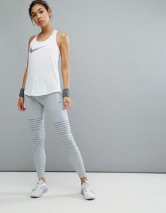 Read more about Nike running power epic luxe legging in grey - grey