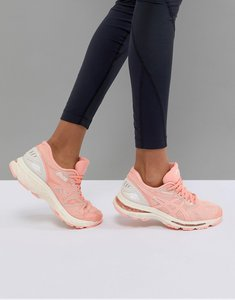 Read more about Asics running gel nimbus trainers in cherry blossom - red