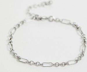 Read more about Designb chain bracelet in silver exclusive to asos