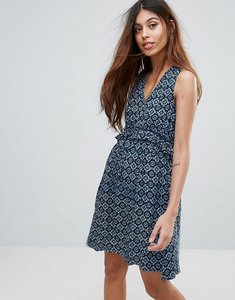 Read more about Yumi sundress in mini tile print - navy