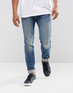 Read more about Levis orange tab 510 skinny fit axle wash - blue