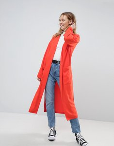 Read more about Asos soft duster coat - orange