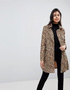 Read more about Parisian belted leopard coat - leopard
