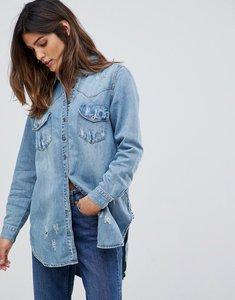 Read more about One teaspoon western denim shirt - vintage blue