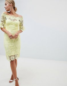 Read more about Paper dolls crochet dress - lemon