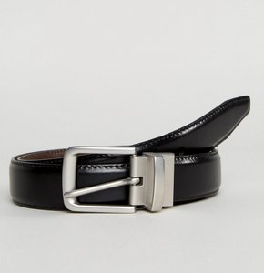 Read more about Esprit reversible belt in leather - 001 black