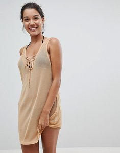 Read more about And co ocean breeze beach shift dress - gold
